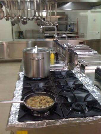 Masseria Caselli, cucina