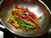 Verdure nel wok