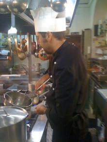 In cucina a L'Umlet