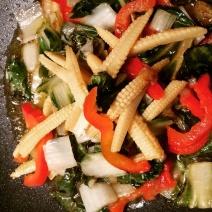 verdure stir fry